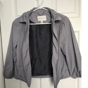 Banana Republic grey blazer style jacket